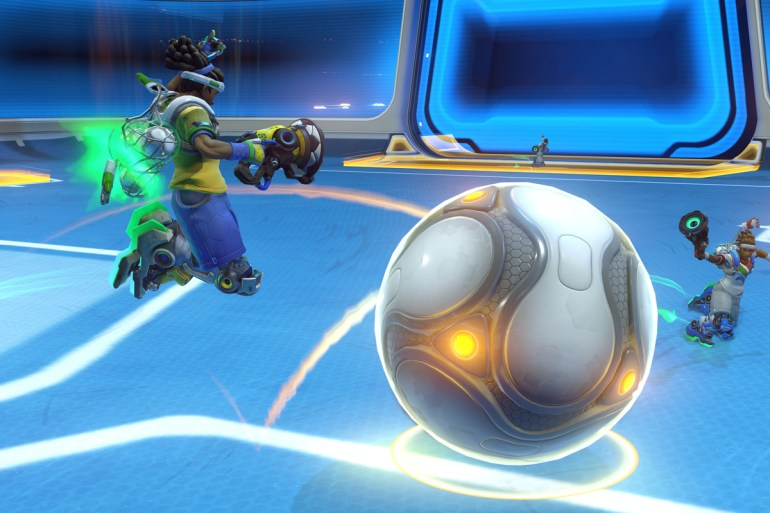 Overwatch Lucioball screenshot