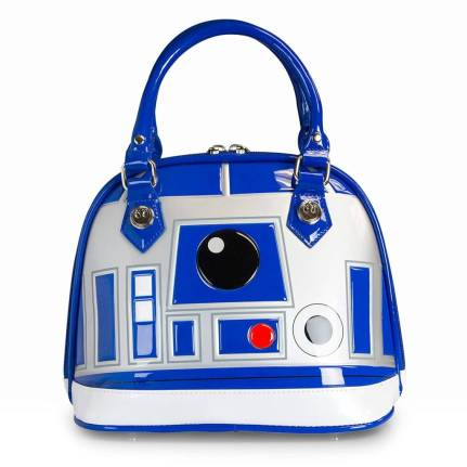 "Star Wars gift idea: Loungefly vinyl R2d"" purse"