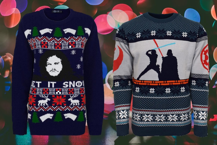 Nerdy Christmas Jumpers/Sweaters