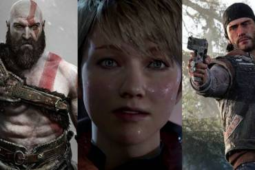 PS4 Games 2018