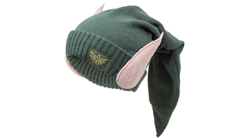Zelda Link elf ears wool beanie hat