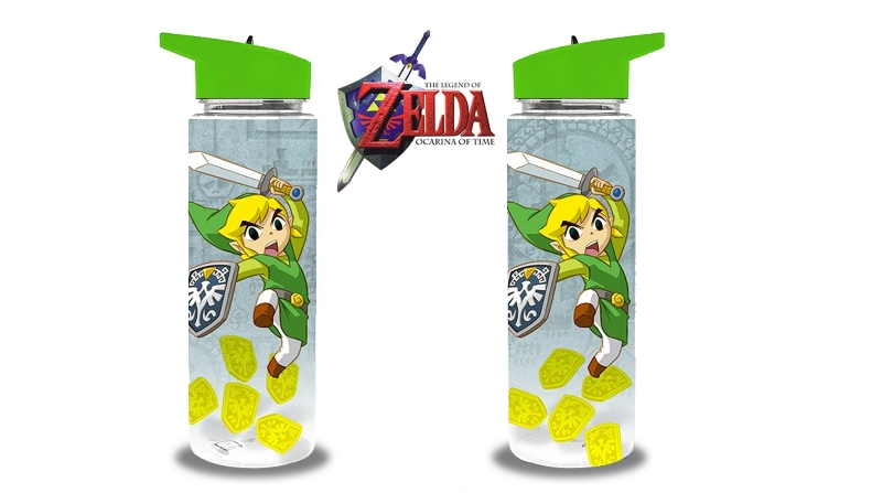 Zelda plastic water bottle