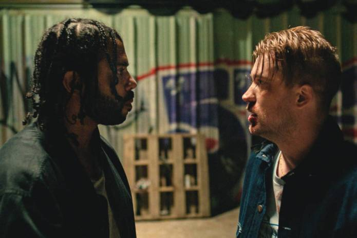 Daveed Diggs and Rafael Casal appear in Blindspotting