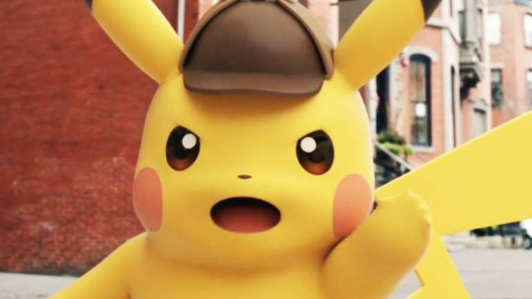 First Set Photos from Live Action Detective Pikachu Movie