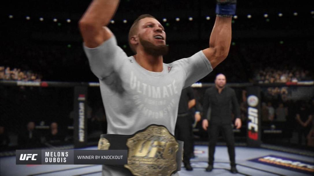 UFC 3 career