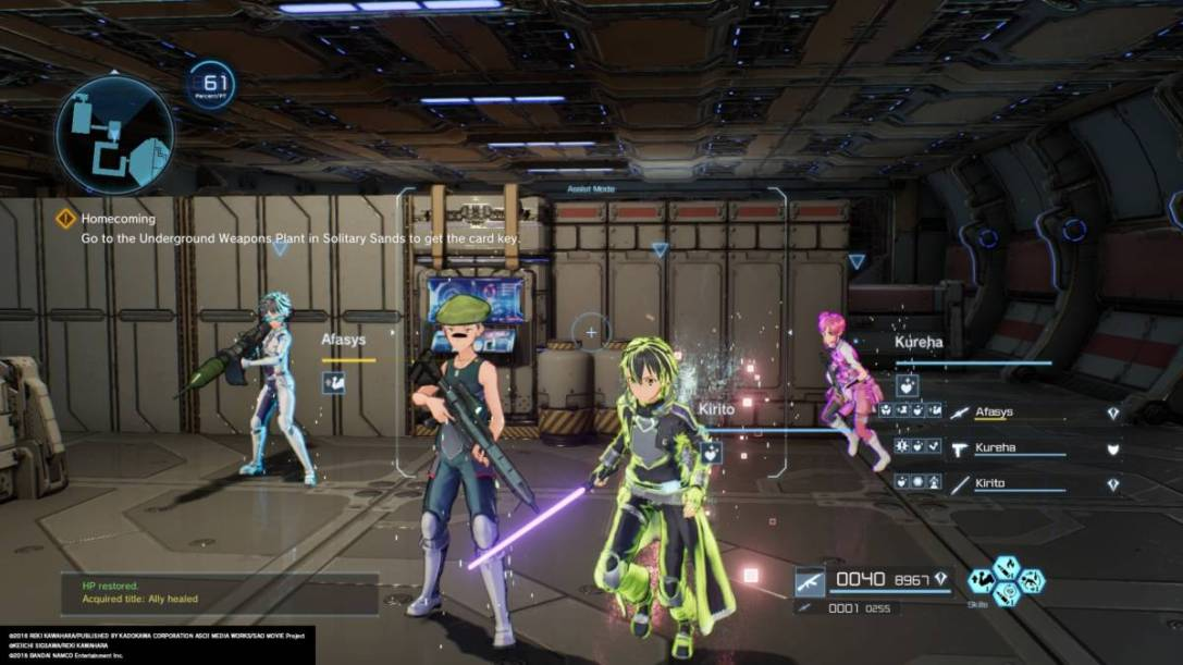 Sword Art Online: Fatal Bullet (PS4) REVIEW - Single-Player