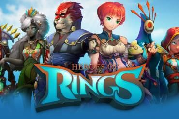Heroes of Rings splash art