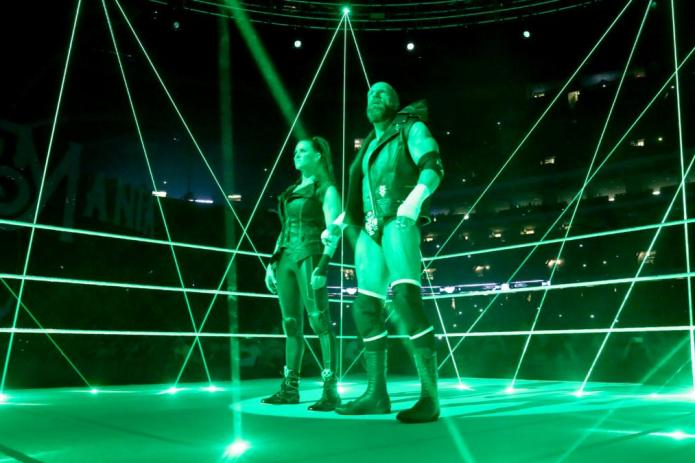 Triple H steph WrestleMania 34
