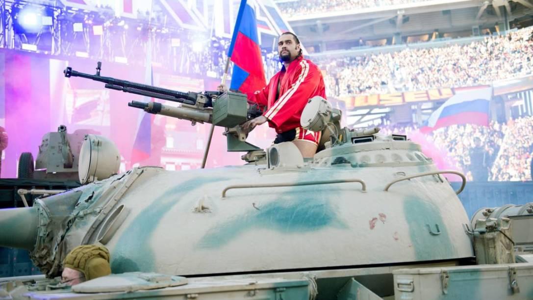 WrestleMania 31 Rusev