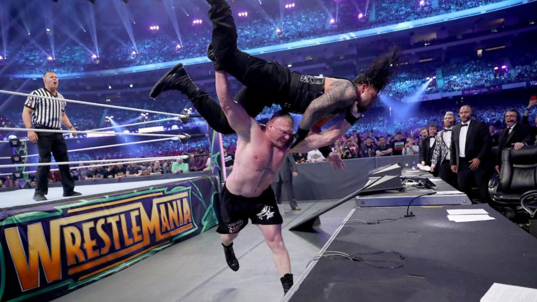 WrestleMania 34 Brock Roman