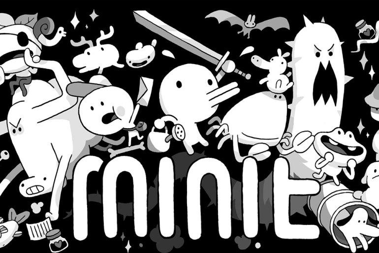 Minit Game Splash Screen
