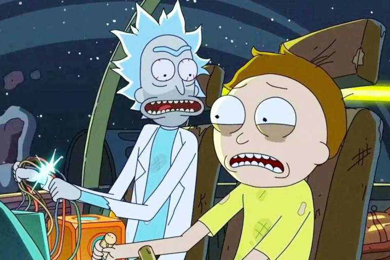 adult swim rick and morty