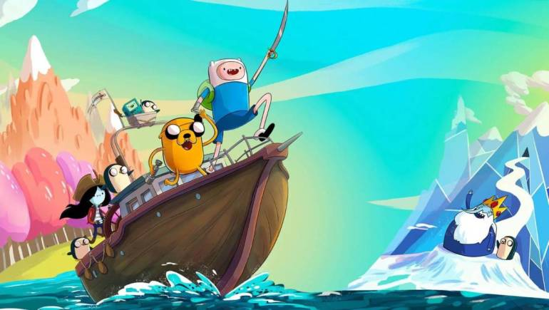Adventure Time pirates game review