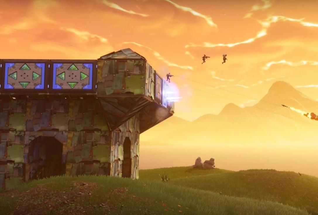 Fortnite port a fortress