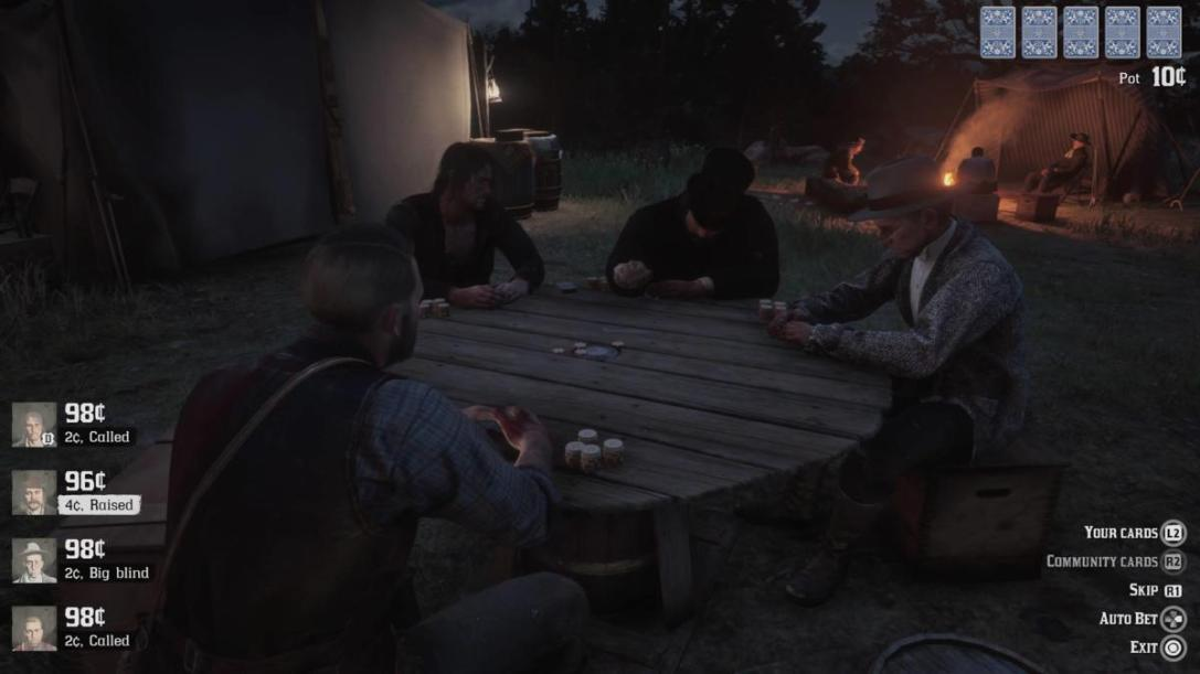 Red Dead Redemption 2 poker