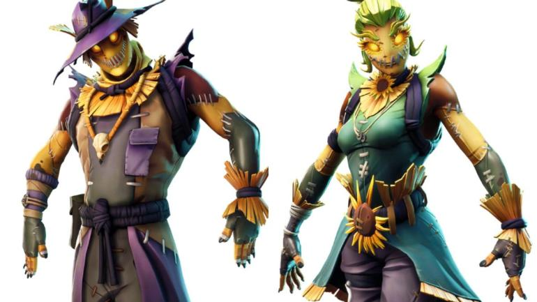 Fortnite Scarecrow skins