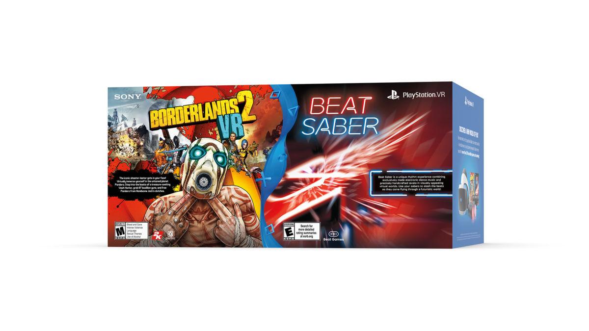 New PSVR Bundle Features Beat Saber & Borderlands 2 VR