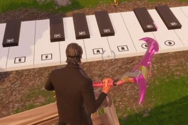 Fortnite piano