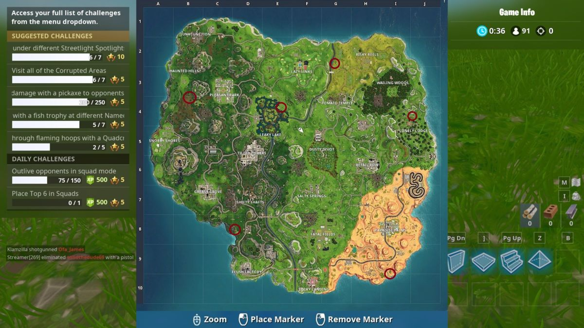 Fortnite Season 6 Guide: Clay Pigeon Locations & Tips