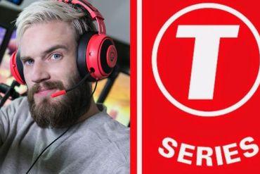 PewDiePie vs T-Series