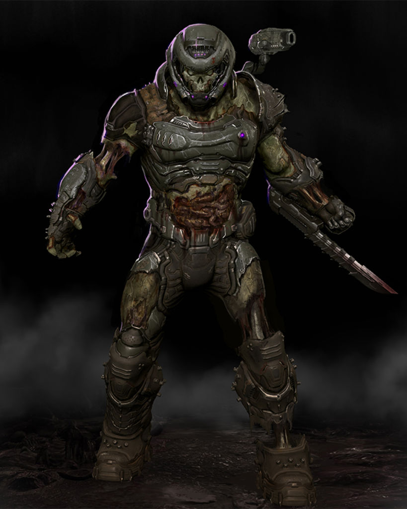 Zombie Doom Slayer