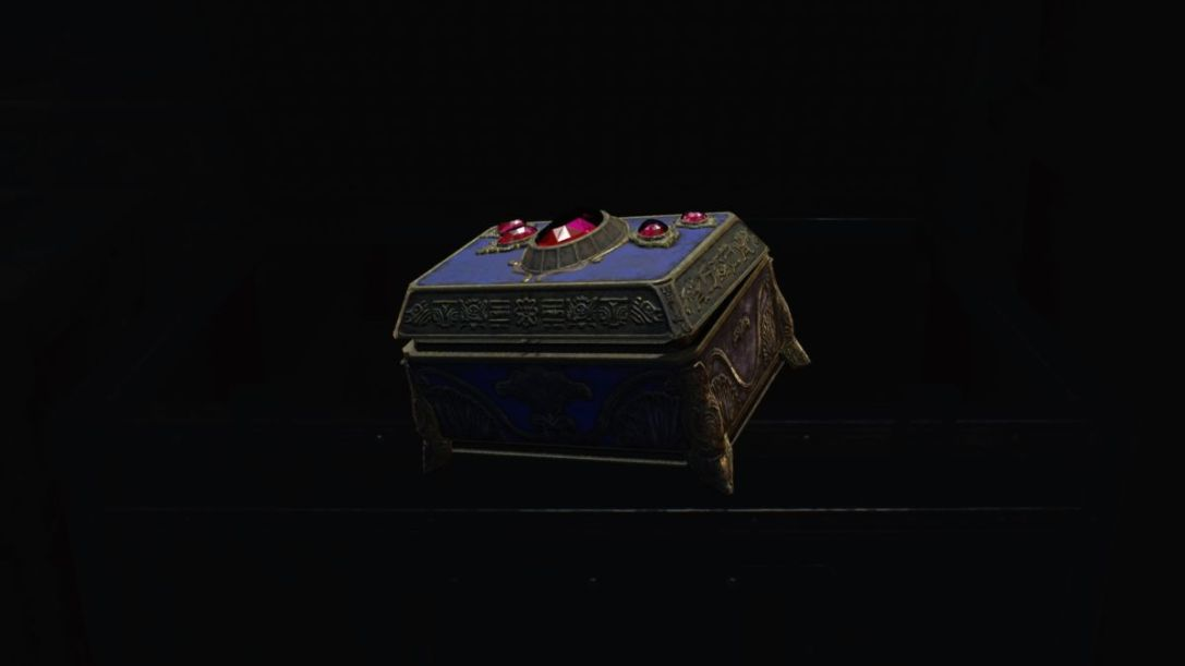 Resident Evil 2 Red Jewel Box