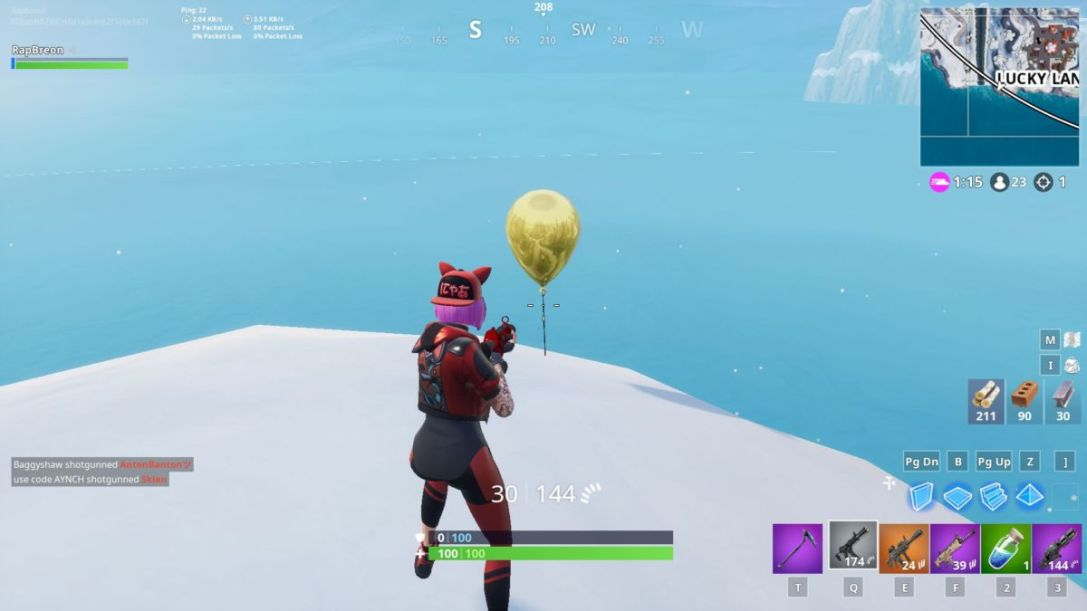 Fortnite Golden Balloons Locations