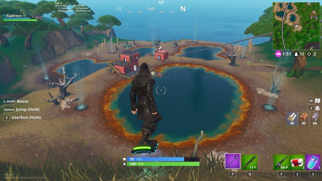 Fortnite Season 8 Hot Springs