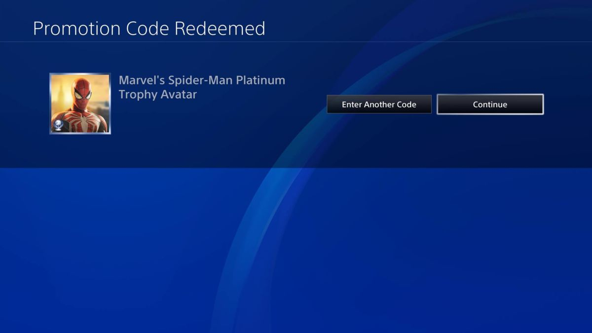 Spider-Man PS4 Platinum Avatars Being Sent Out Now | Cultured Vultures
