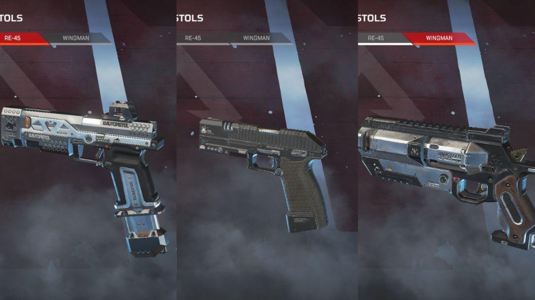 Apex Legends Pistols