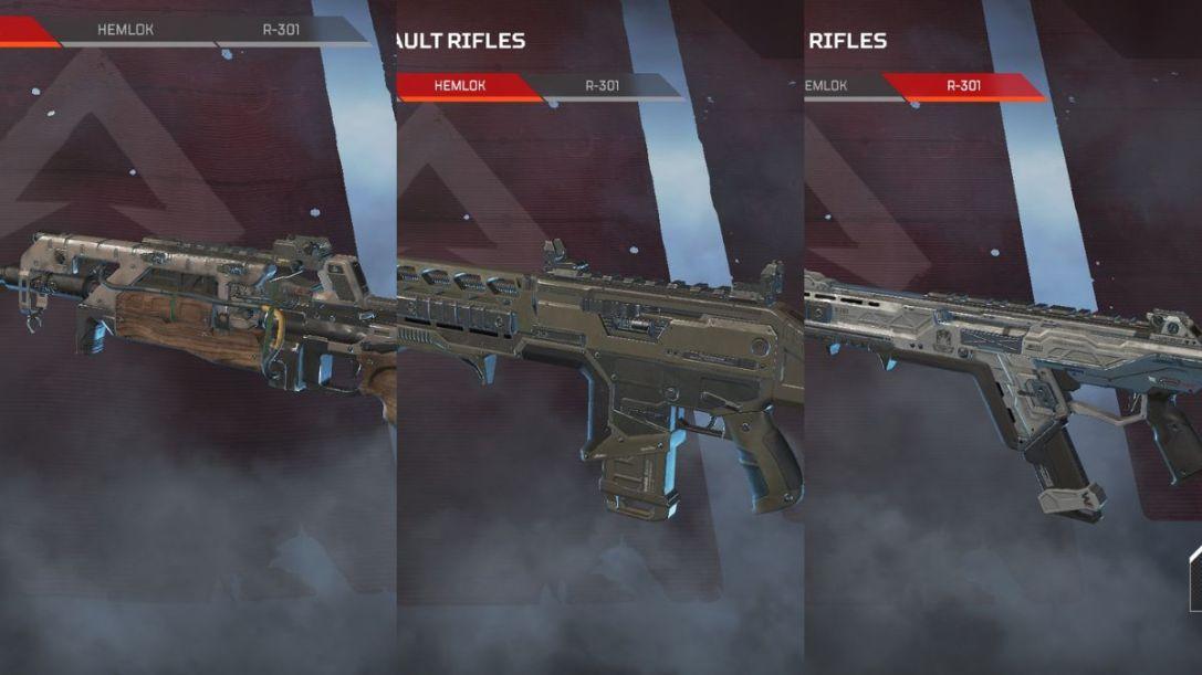 Apex Assault Rifles