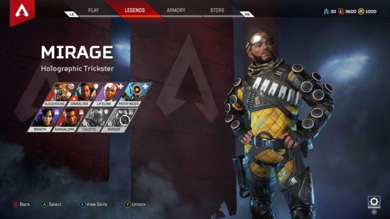 Mirage Apex Legends guide