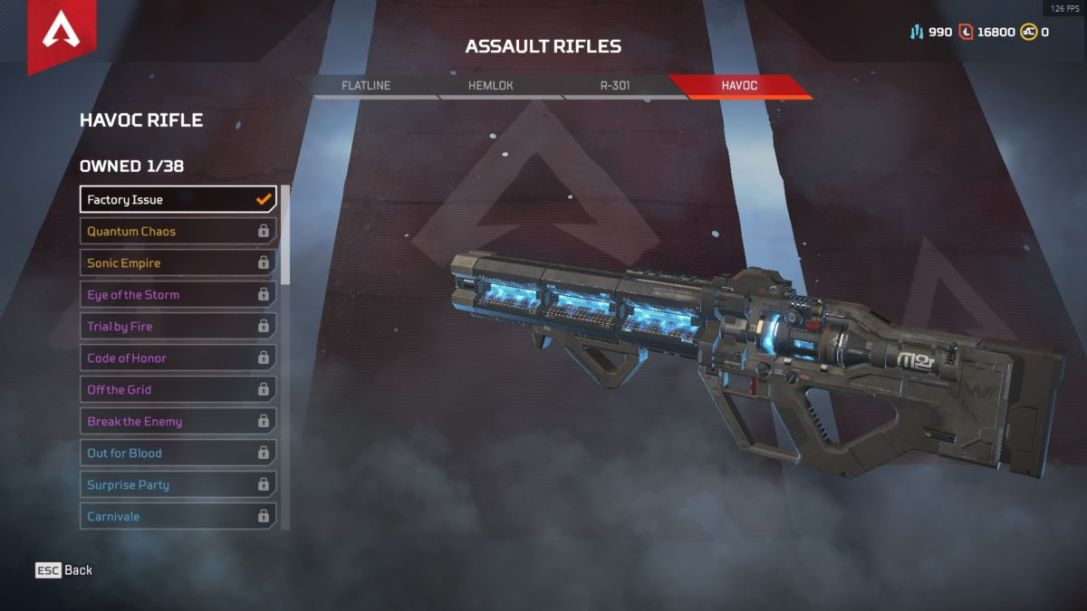 Havoc Rifle