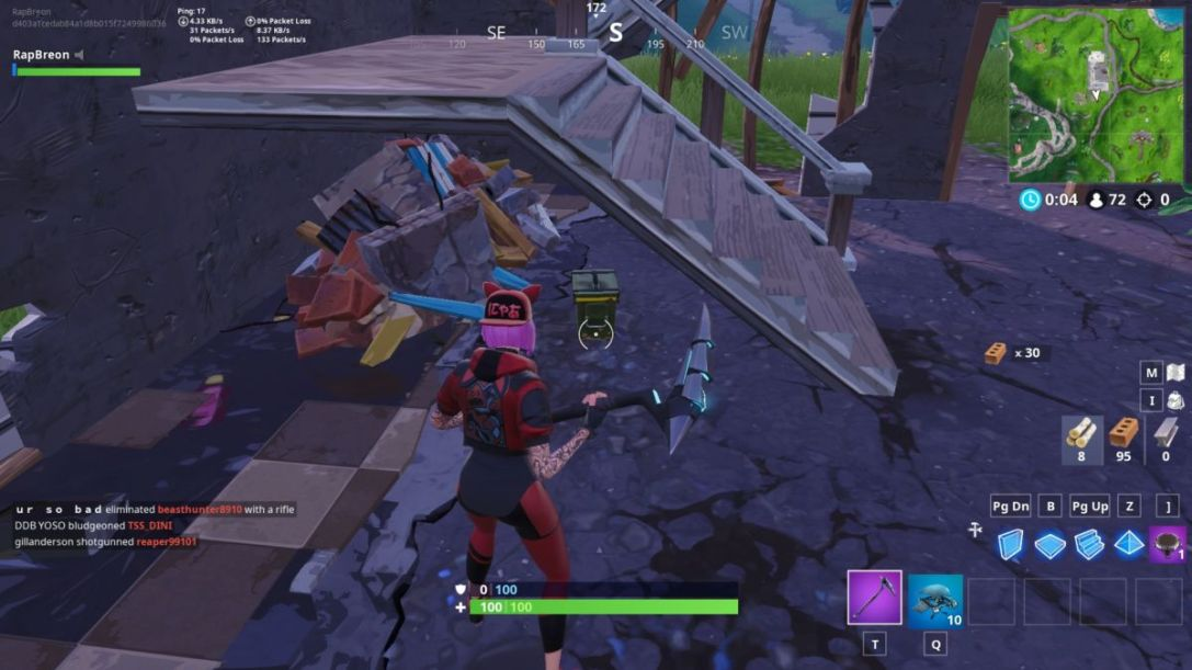 Fortnite Motel Ammo boxes