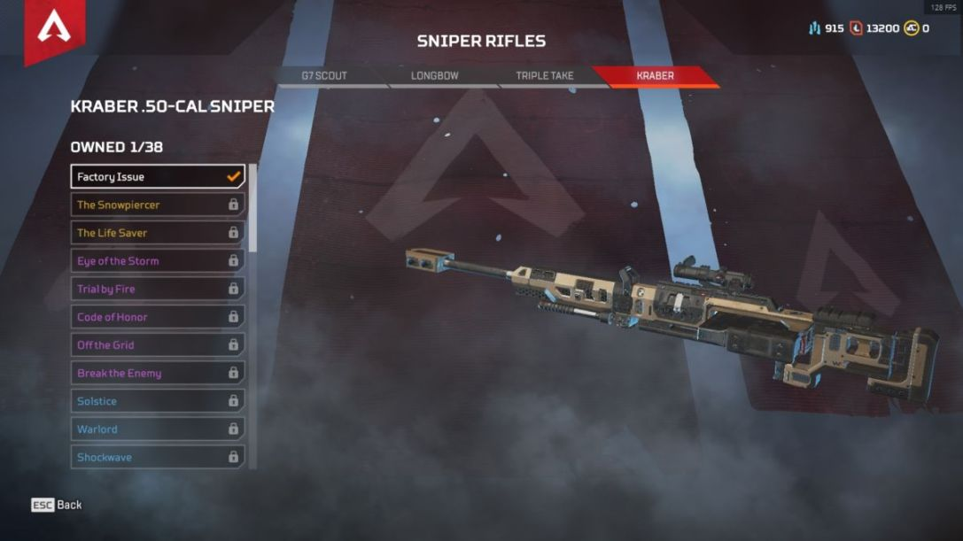 Apex Legends Kraber