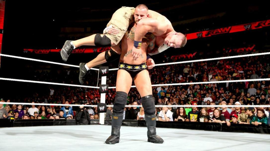 CM Punk vs. John Cena RAW Feb 25th, 2013