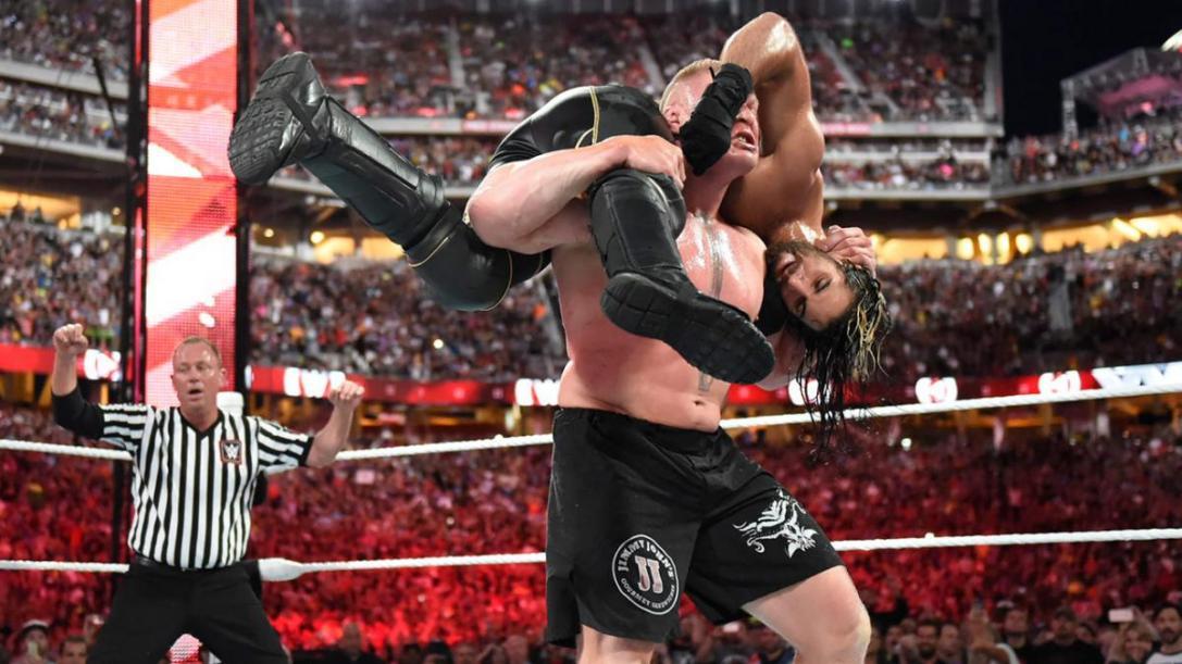 Lesnar Rollins Reigns
