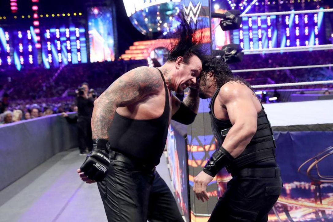Roman Reigns vs. The Undertaker - WrestleMania 33