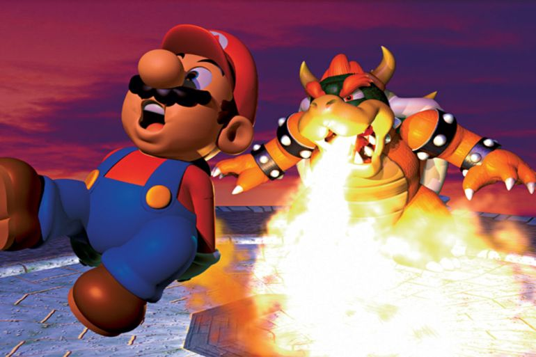 Super Mario 64 Best Platformer Games