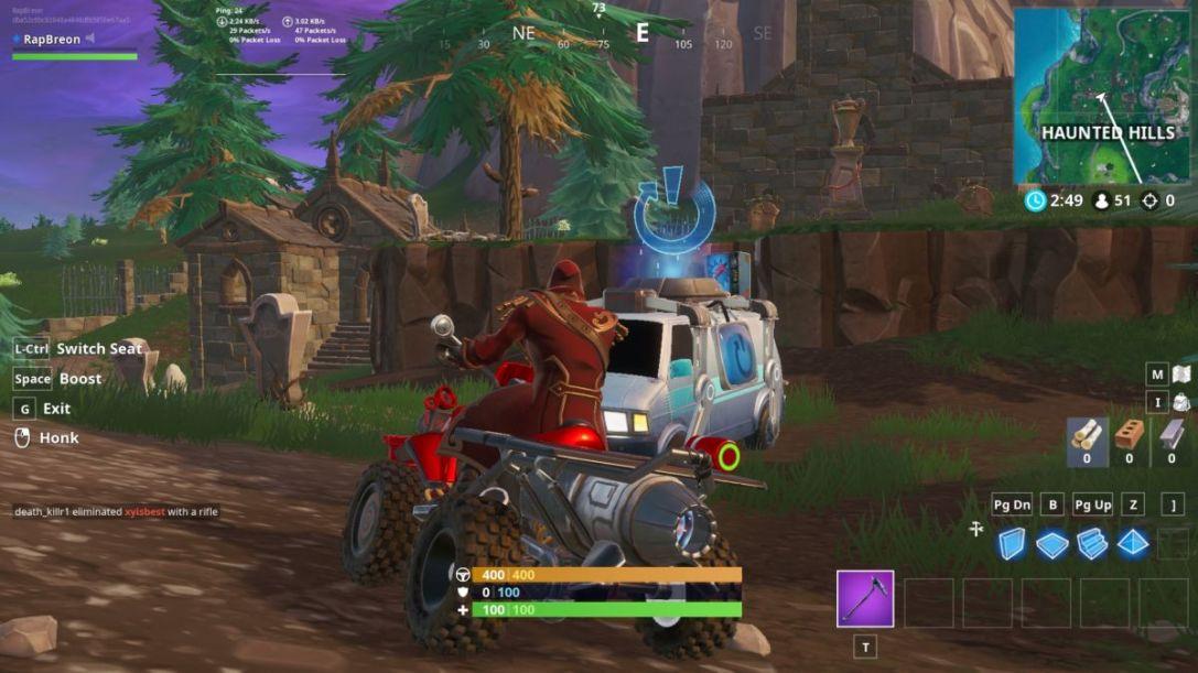 Haunted Hills Reboot Van