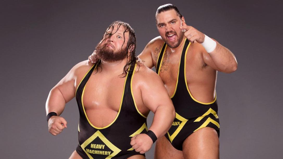 Heavy Machinery WWE