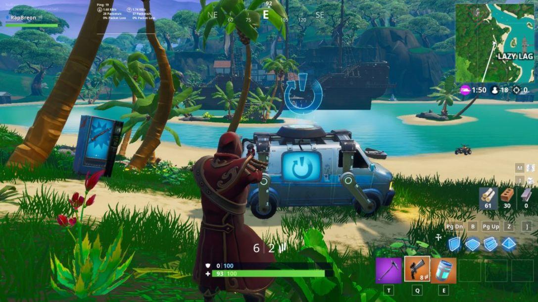 Lazy Lagoon Reboot Van