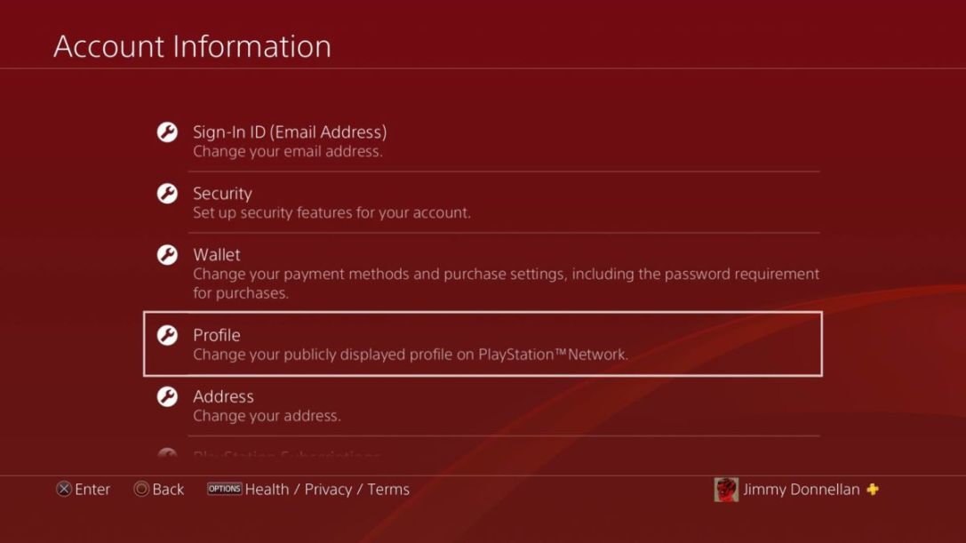 How To Change Your PSN ID On Your PS4 | Cultured Vultures