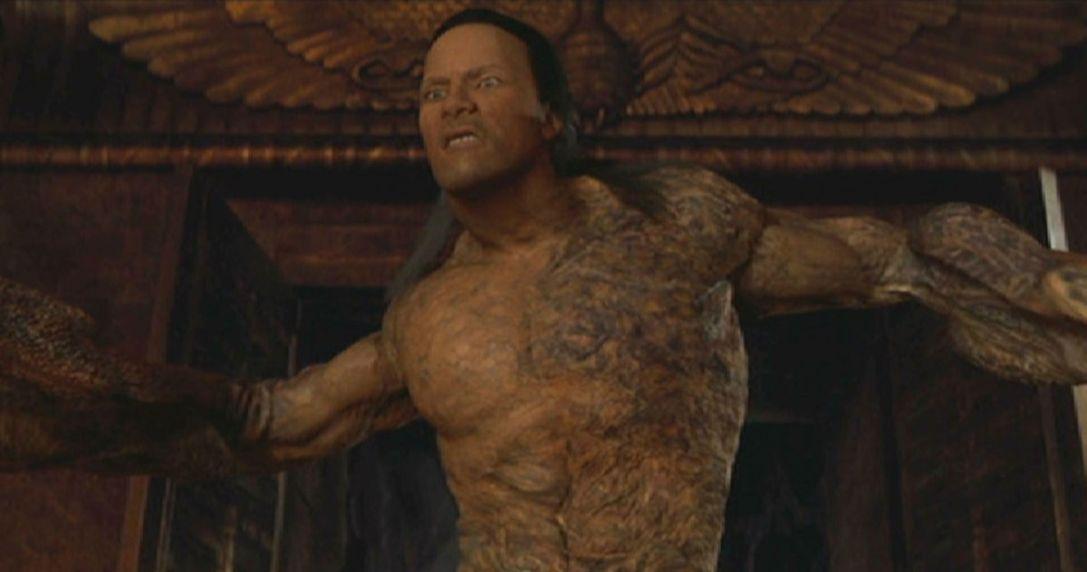 cgi the mummy returns dwayne johnson