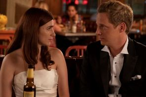 Pancakes YOU'RE THE WORST Aya Cash as Gretchen, Chris Geere as Jimmy. CR: Byron Cohen/FXX