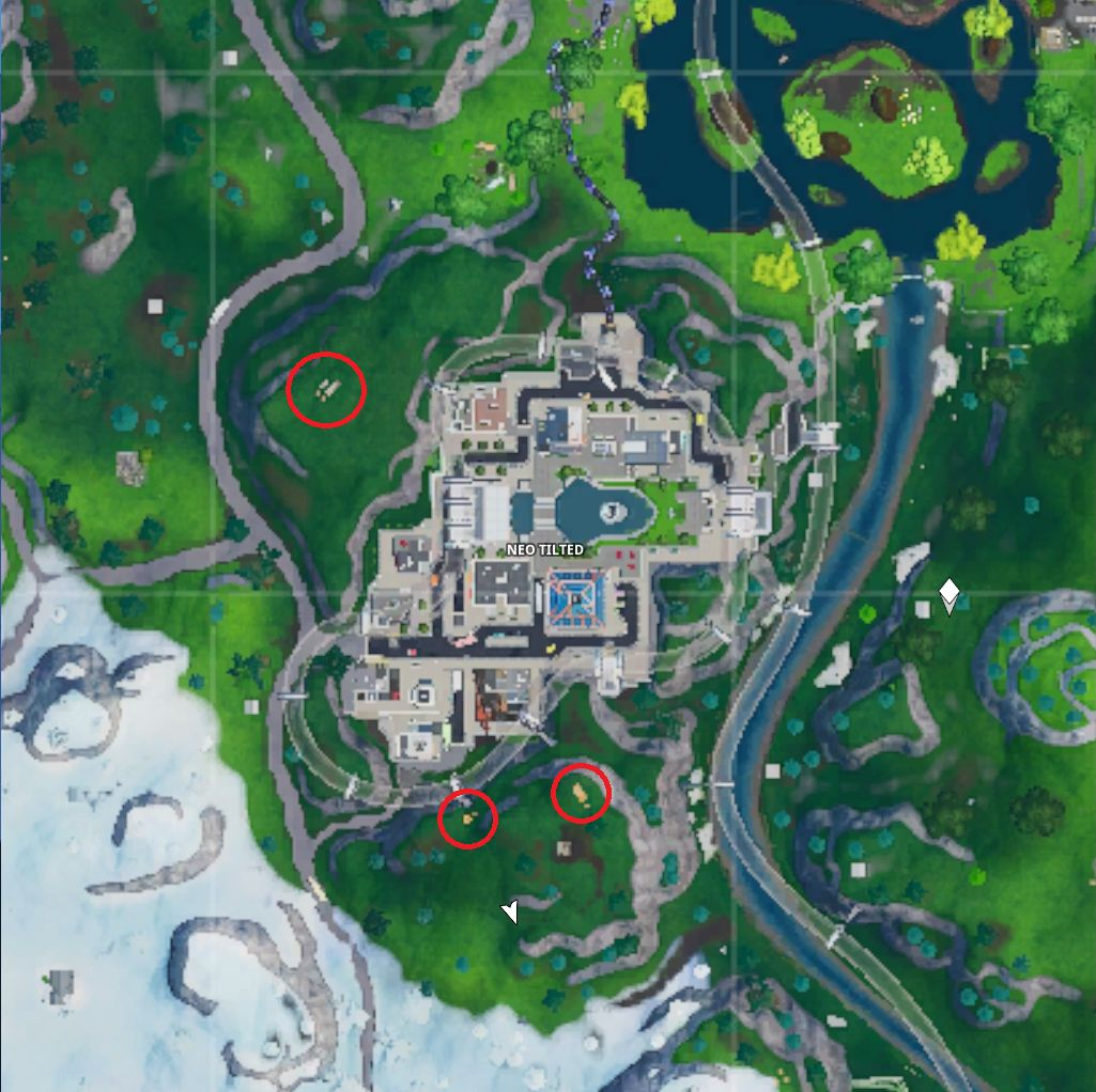 Driftboard spawn locations