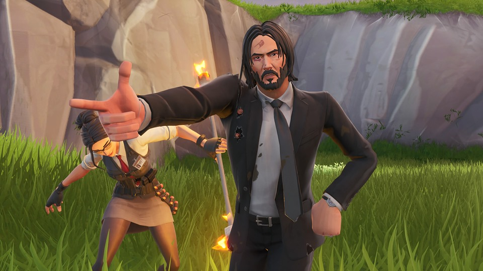 Wick's Bounty John Wick Fortnite