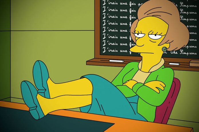 the simpsons marcia wallace mrs krabappel