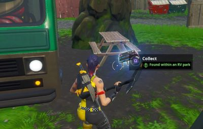 Search Chests Or Ammo Boxes At A Motel An Rv Rv Park In Fortnite