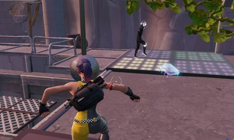 Fortnite Season 9 Fortbyte #53: Accessible By Helping To Raise Disco